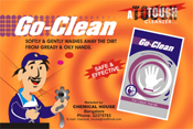 Go-Clean (Grease & Oil are good for machines. NOT for you)